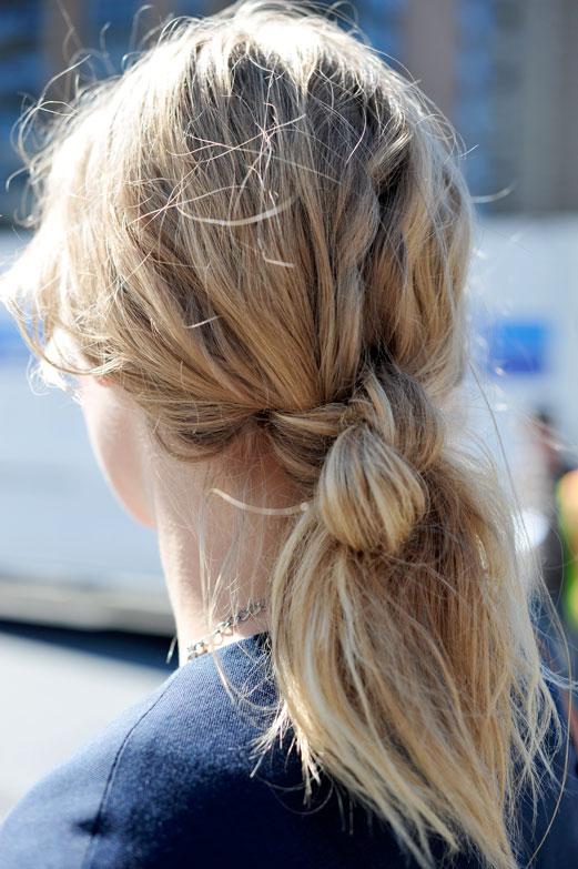 ponytail holders for thick hair. Hair knot