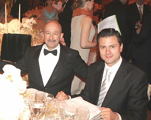 Salinas y Peña Nieto (Agosto 2009)