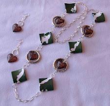 Collar Cod 2450 corazones S/ 35.00 Nuevos Soles