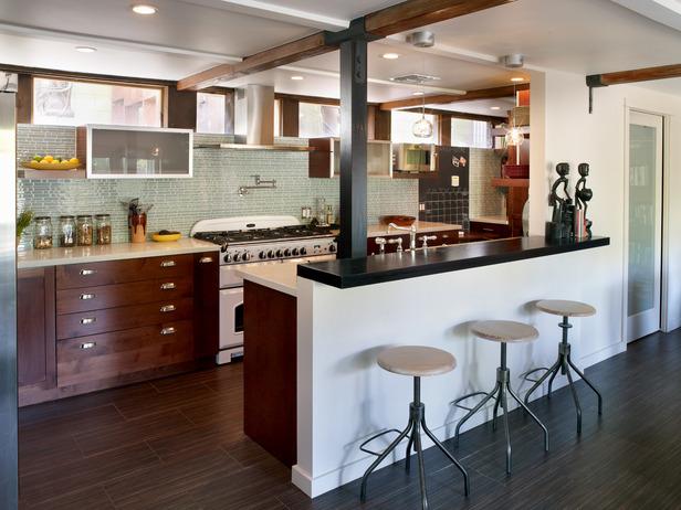 decoracao de cozinha integrada a sala de jantar:achados de decoracao: DECORAÇÃO DE COZINHAS: PEQUENAS, MÉDIAS OU