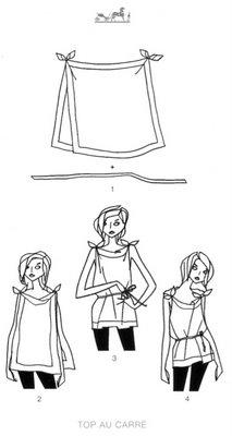 como usar lenços e echarpes