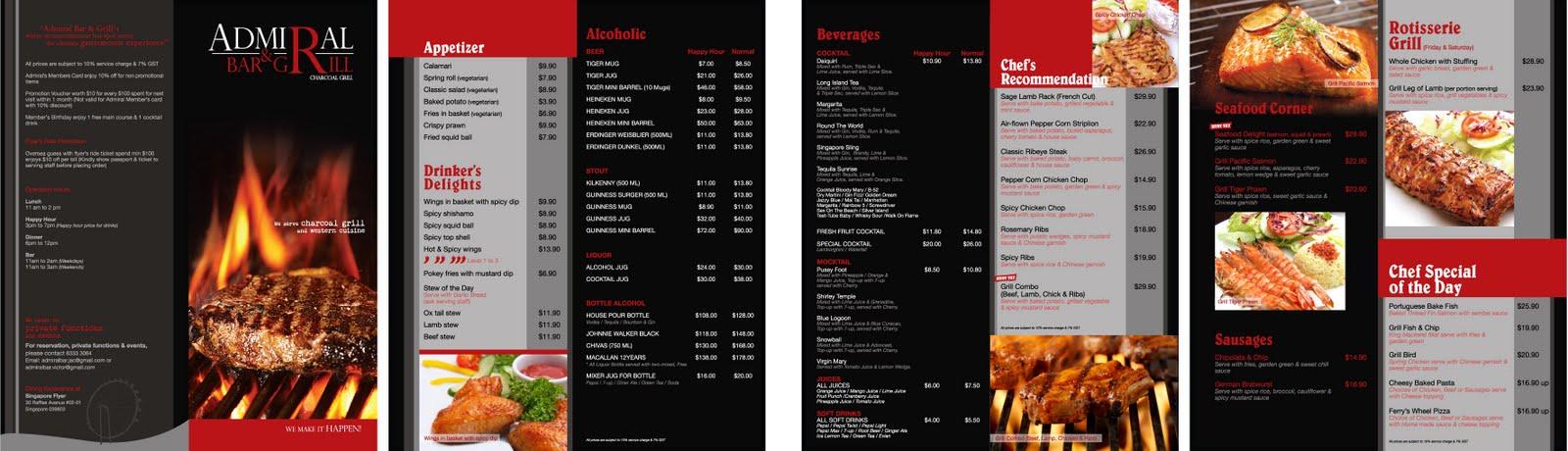 Purestateofmine purestateofmind admiral bar grill menu for Table 52 drink menu