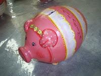 Cofre porquinho bailarina