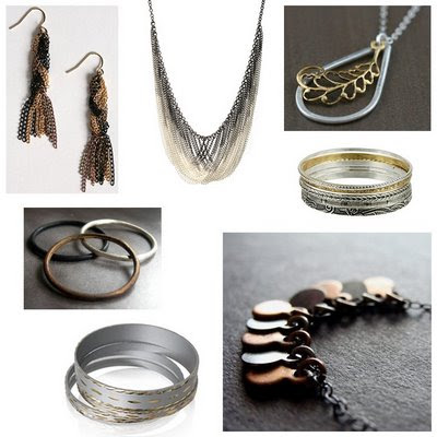 Modern Metallic Jewelry
