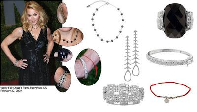 Madonna's Jewelry Style