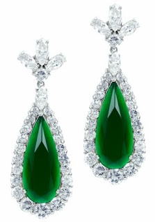 CZ Emerald Earrings