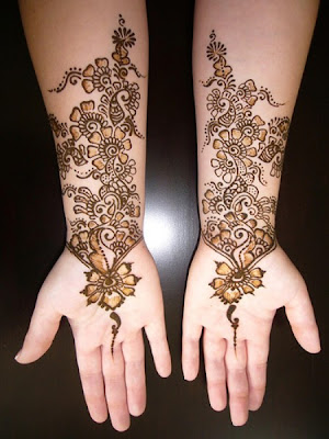 Mehndi Tattoo Design - Diverse of Arabic Mehndi Design