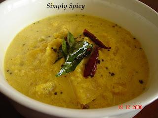 Mambazha Pulissery - Ripe Mango Curry