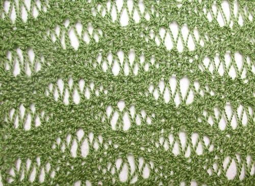 Knot-Cha-Cha! : Knitting in Seafoam