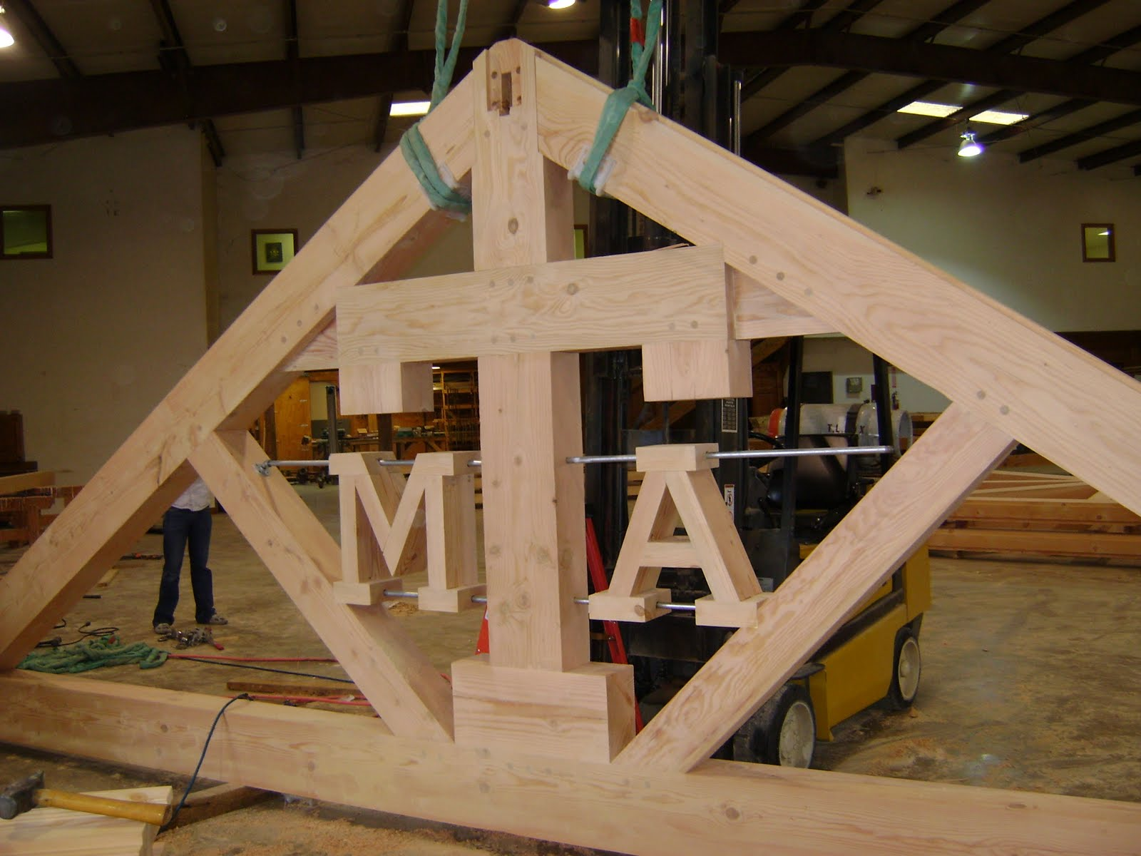 Texas Timber Frames: September 2010