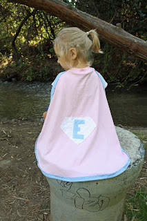 T Shirt Cape Tutorial