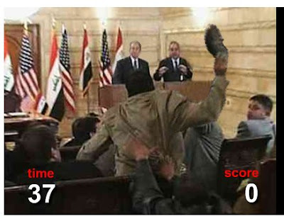 its your turn to throw shoes at president bush throw shoes at bush