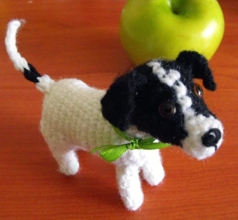 Irka!: Alfredo, el perro amigurumi