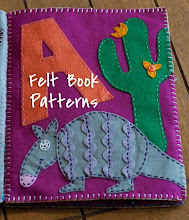 Felt Name Book Patterns