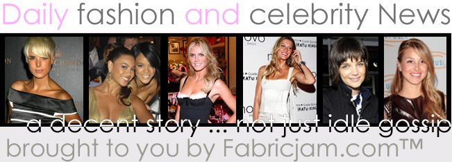 Fabricjam Fashion and Celebrity News