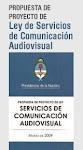 Anteproyecto de Ley Servicios de Comunicación Audiovisual