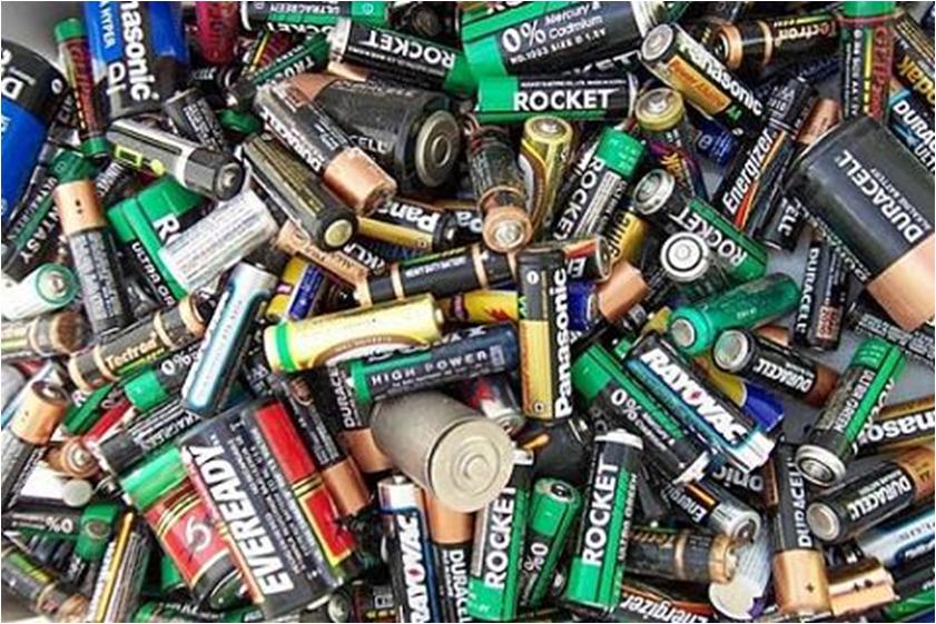 las pilas baterias: