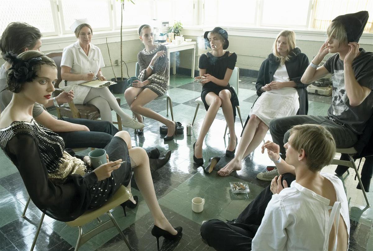 Minimal List Trapanese Max Meisel Vogue Italia Rehab Valium Xanax Prozac Miltown Fashion