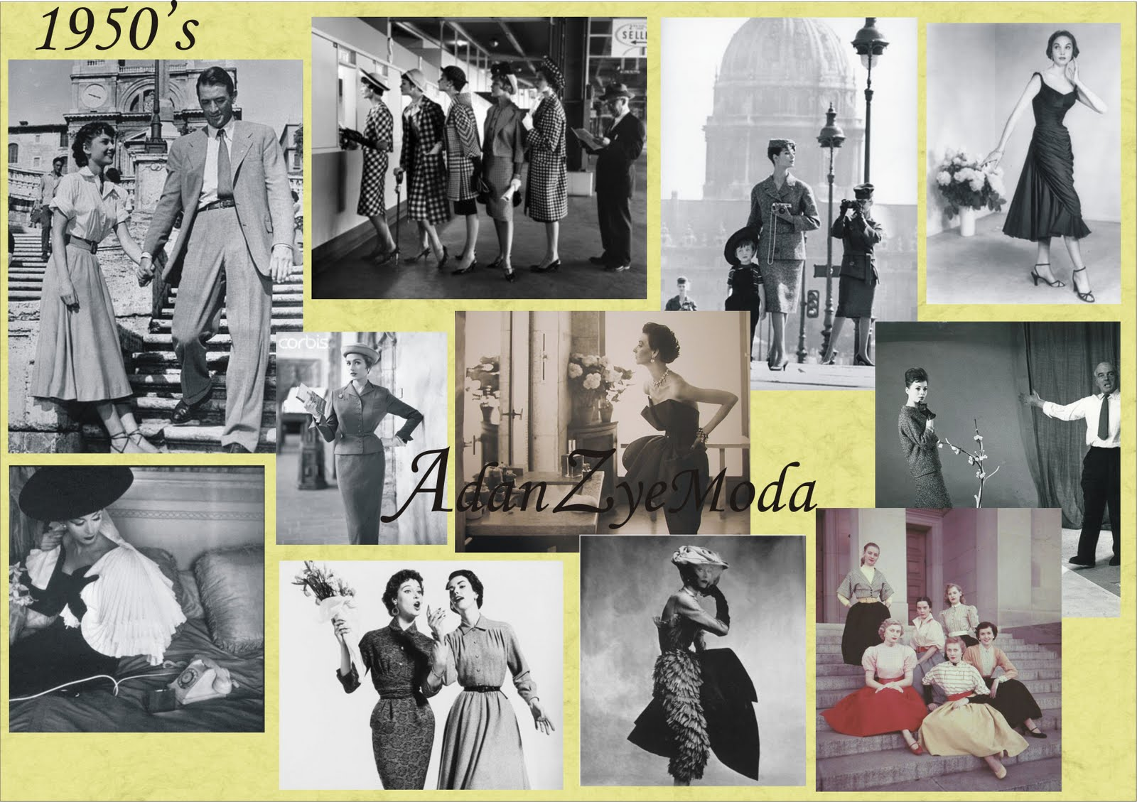 fashion history of womenswear 1900 1950 Fashions and clothes styles from 50 years from the people history site what do   after world war ii ended, up until the mid-1950's trends in women's fashion.