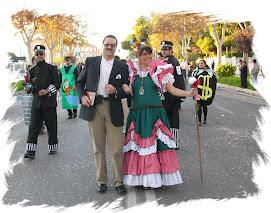 La folklórica y el ex-alcalde