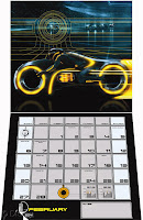 foto merchandising tron calendario