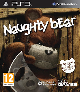 foto caratula naughty bear ps3