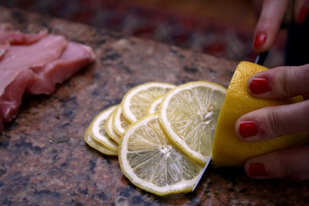 Lemon- And Prosciutto-Stuffed Pork Loin Roast With ...