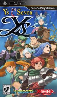 Download Ys: Seven - PSP Game Direct Link