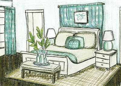 Bedroom Decor in HGTV Dream Home 2008 ~ HGTV 2014 Dream Home Giveaway