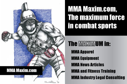 MMA Sports Sponsorship, Clothing, News, & Fitness Equipment Training