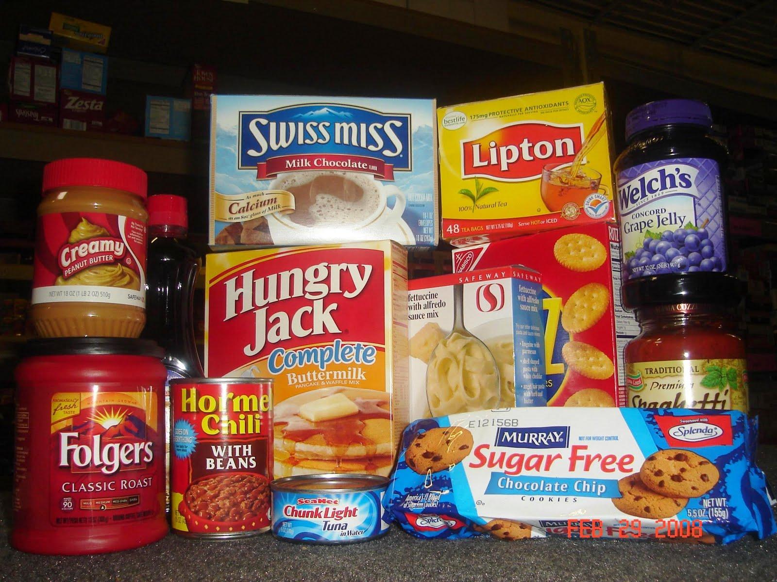Non perishable snacks