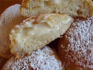 Пончики с заварным кремом рецепт