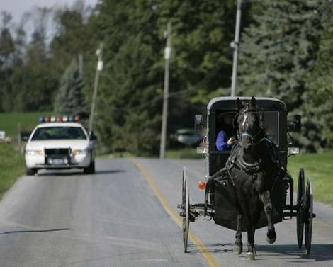 Levi Detweiler, a 17-year-old Amish youth, allegedly led sheriff's deputies ...