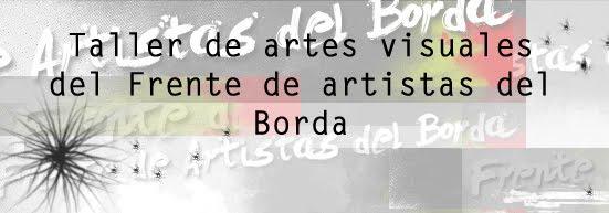 Taller de artes visuales del Frente de Artistas del Borda