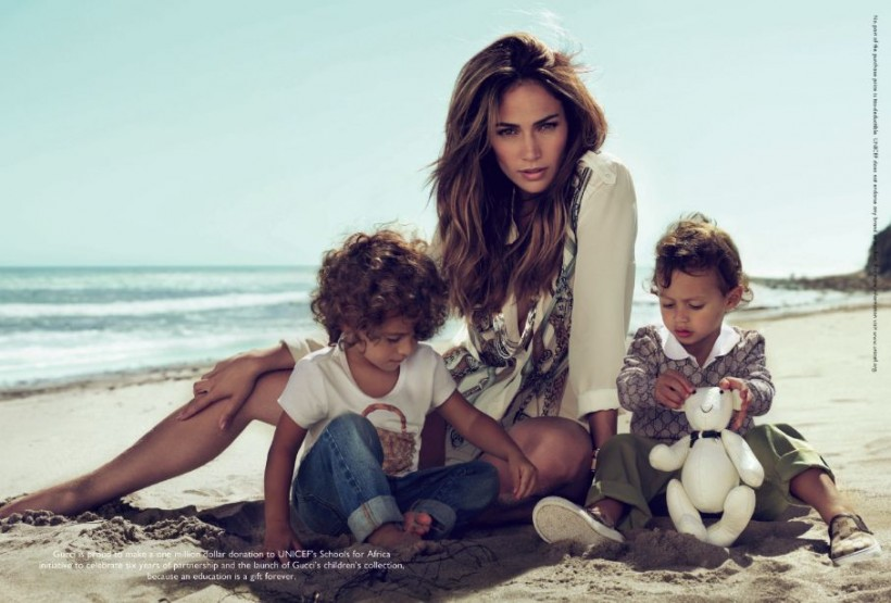 jennifer lopez twins gucci. jennifer lopez twins gucci