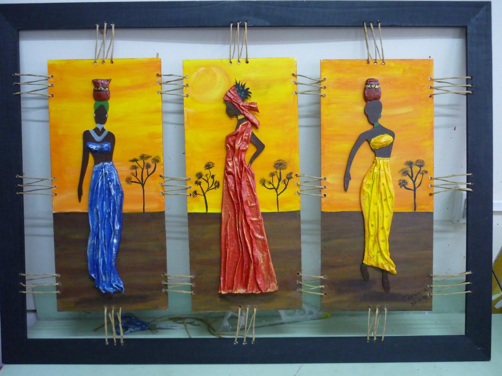 Negras africanas para pintar graffiti pintura y decoraciones for Decoracion de pintura