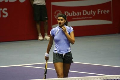 Sania Mirza  on Sania Mirza Hot Pics