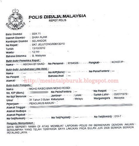 Rasid lapor polis... Anwar bakal terkancing gigi?
