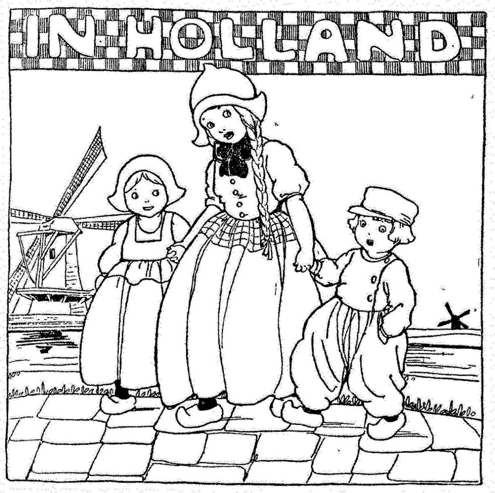 holland coloring pages - photo#15
