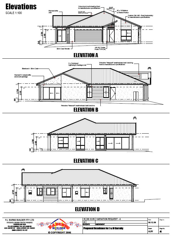Elevation Plan In Autocad : Autocad house elavation drawing joy studio design