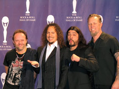 Metallica into the Rock and Roll Hall of Fame