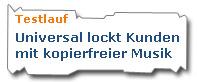 Universal - kopierfreie Musik - N24