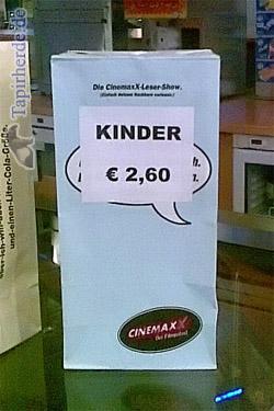 Kinder 2 Euro 60 pro Tuete