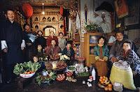Essen für eine Woche in Bhutan