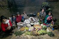 Essen für eine Woche in Equador