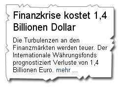 1,4 Billionen Euro oder Dollar - Süddeutsche