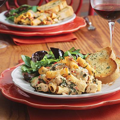 Cajun Chicken Pasta. Chicken #39;n#39; Spinach Pasta Bake