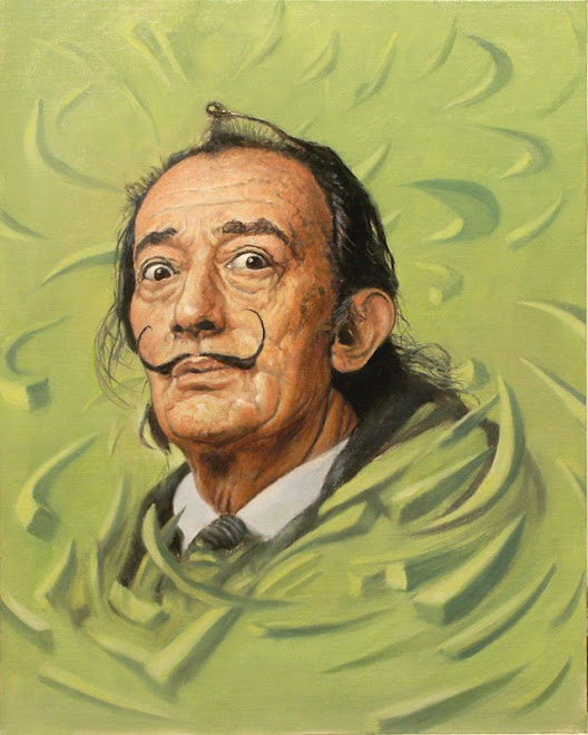 Work In Progress ~ Salvador Dali , study