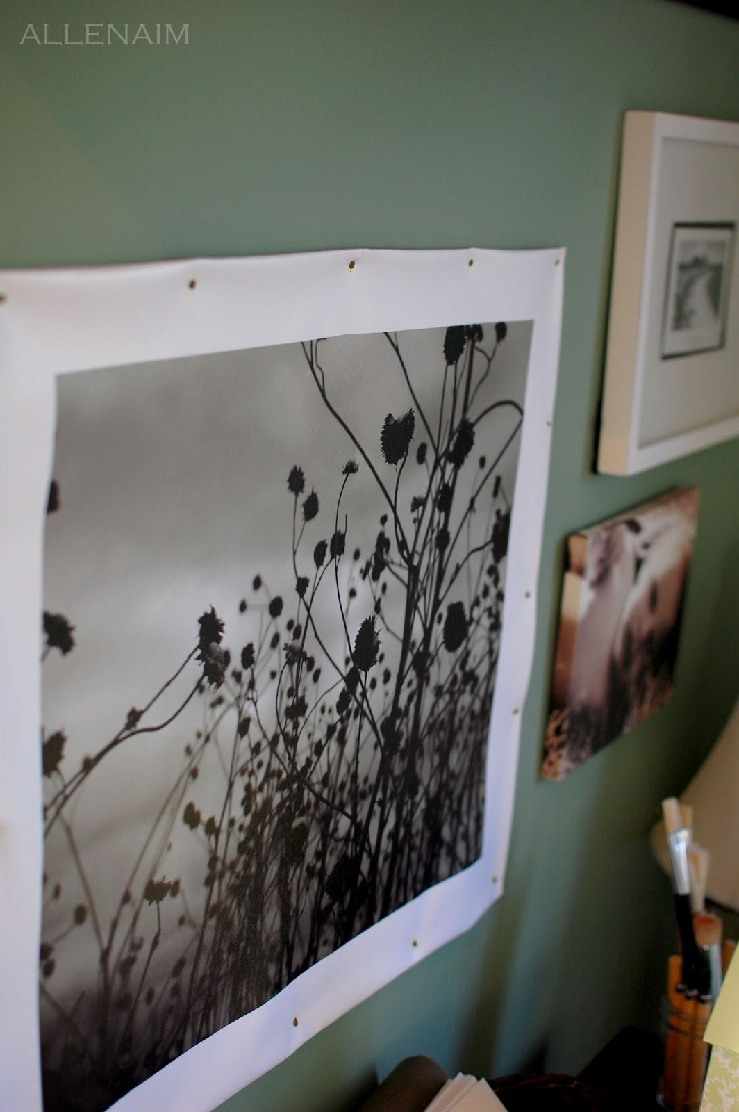 more alternative artwork and framing ideas