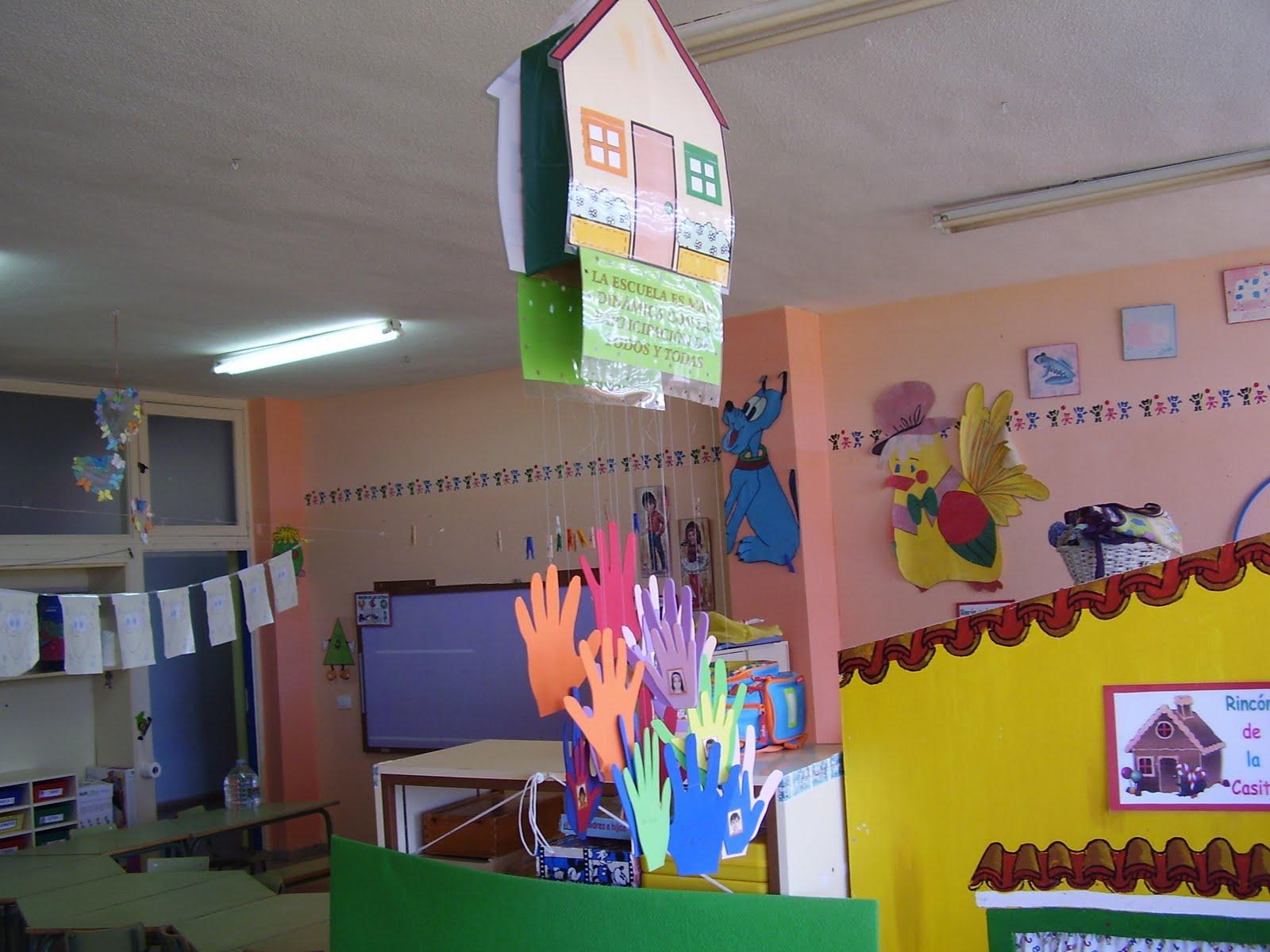 Una ventana al aula de infantil una gran fiesta de for Cancion de bienvenida al jardin